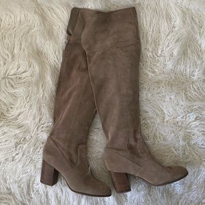 Jessica Simpson Over the knee boots
